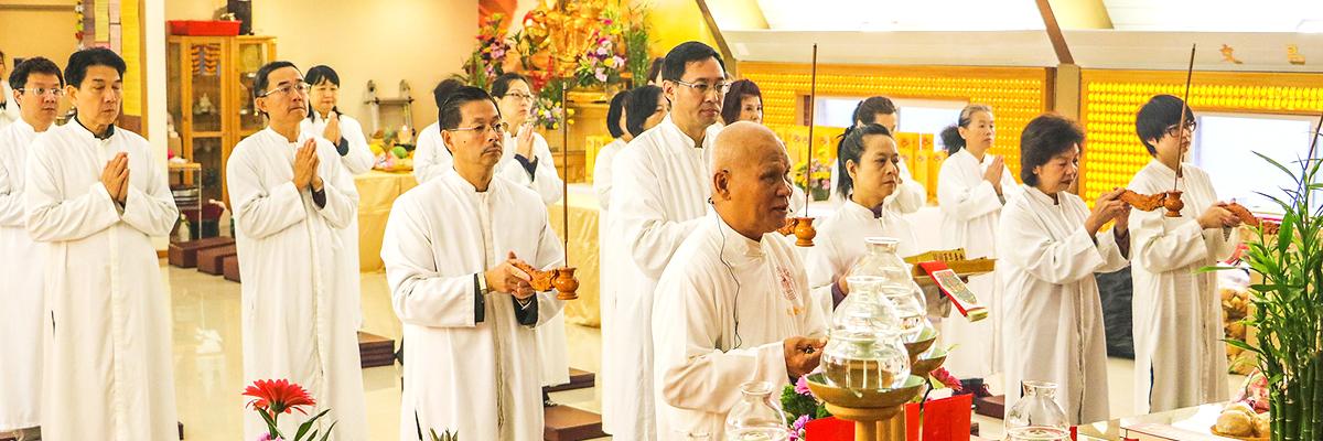 天金堂法會祭拜