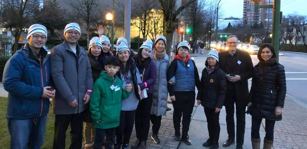 TJ Living team gathers on the streets for the Coldest Night of the Year fundraiser