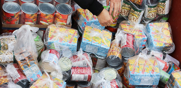 Food donations to the Greater Vancouver Food Bank